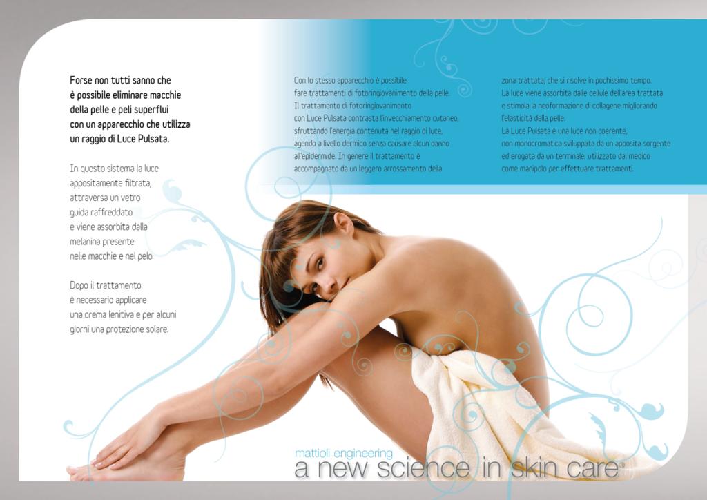 Brochure Luce Pulsata 1 Dermatologo Laura Fancelli dermatologia